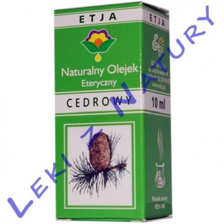Olejek Cedrowy 10 ml - Etja