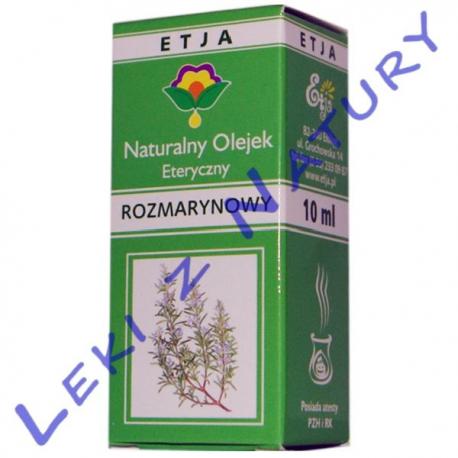 Olejek Rozmarynowy (Rosmarinus Officinalis Oil) 10 ml - Etja