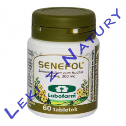Senefol - Tabletki z Senesem - 60 tabletek - Labofarm