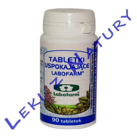 Tabletki Uspokajające - 90 tabletek - Labofarm