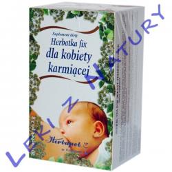 Dla Kobiety Karmiącej Fix - Herbatka Mlekopędna 2g x 20 sasz - Herbapol Kraków