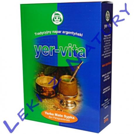 Yer-vita - Argentyńska Yerba Mate o Naturalnym Smaku - 200g