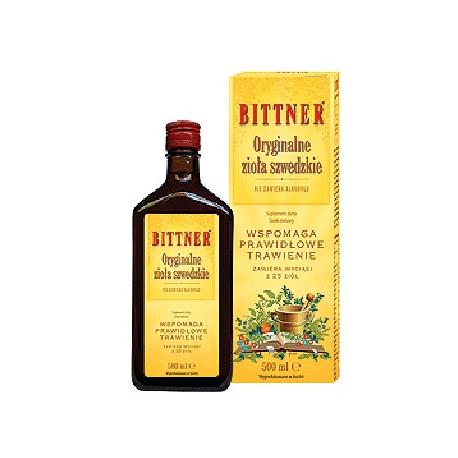 Oryginalne Zioła Szwedzkie 50 ml - Bittner
