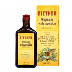 Oryginalne Zioła Szwedzkie 500 ml - Bittner
