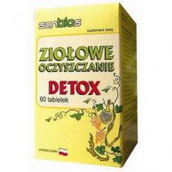 DETO'X - Ziołowe Oczyszczanie - 500mg x 60 tabletek