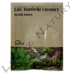 Borówka Czernica Liść, Liść Borówki Czernicy 50g