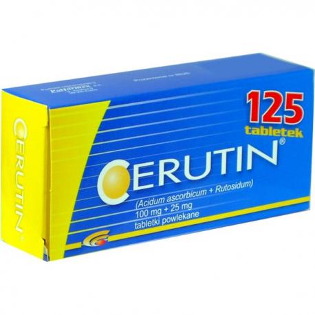 Cerutin 125 tabletek