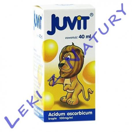 Juvit C - Witamina C dla Dzieci - Krople 40 ml Hasco Lek