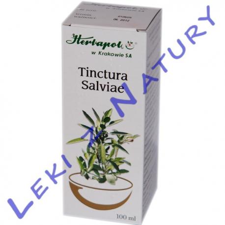 Szałwia Nalewka - Tinctura Salviae - 100 ml