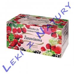 Herbata Żurawinowa Fix - 3g x 20 sasz. Herbapol Kraków