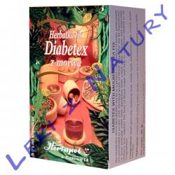 Diabetex Herbata z Morwą Białą Fix 20 sasz x 1,5g Herbapol Kraków