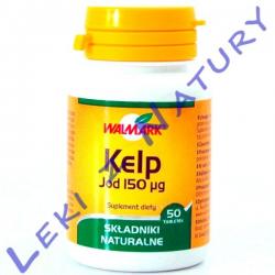 Kelp (Morszczyn Pęcherzykowaty) - 50 tabletek - Walmark