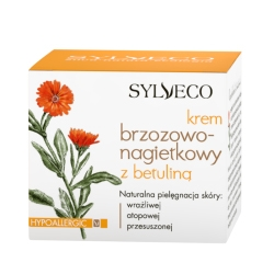 Naturalny Krem Brzozowo - Nagietkowy z betuliną 50ml - Sylveco