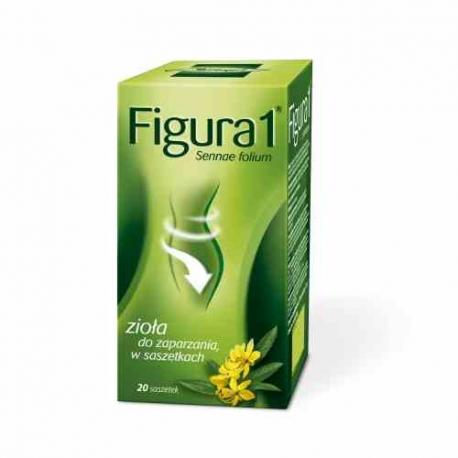Figura 1 Fix - Herbatka Przeczyszczająca 20 sasz x 3g Herbapol Lublin