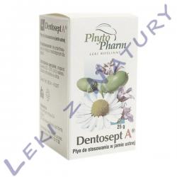 Dentosept A - Stany Zapalne Jamy Ustnej - Płyn 25g