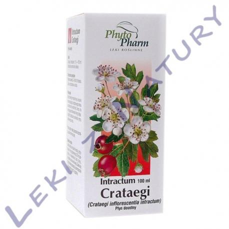 Głóg Wyciąg - Intractum Crataegi - 100g PhytoPharm