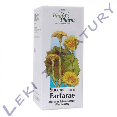 Podbiał Sok - Succus Farfarae - Płyn 100 ml