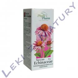 Jeżówka Purpurowa Sok - Succus Echinaceae - Krople 45g