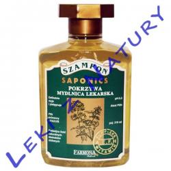Saponics - Szampon do Włosów Delikatnych i Normalnych 300 ml. - Farmona