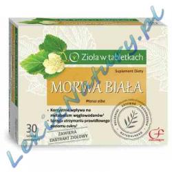 Morwa Biała 30 tabletek powlekanych Colfarm