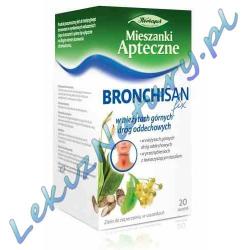 Bronchisan fix - w kaszlu i przeziębieniu 3,0 g x 20 sasz. Herbapol Lublin