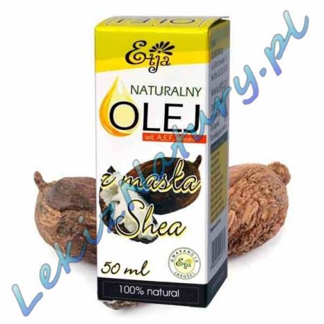 Olej z Masła Shea BIO 100% Naturalny 50ml - Etja