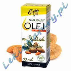 Olej ze Słodkich Migdałów BIO 100% Naturalny 50ml - Etja