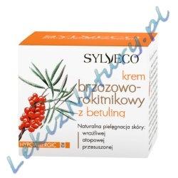 Naturalny Krem Brzozowo - Rokitnikowy z Betuliną 50ml - Sylveco