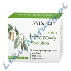 Naturalny Krem brzozowy z betuliną 50ml - Sylveco