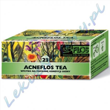 Herba Flos - Acneflos Tea (23) - Zioła przeciw trądzikowe - 2,5 g. x 20 sasz
