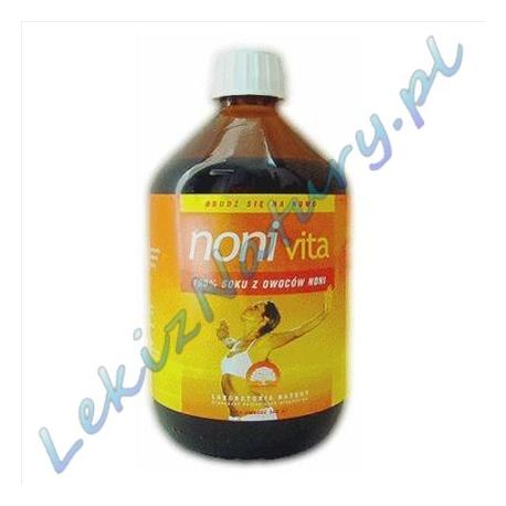 Noni-Vita - 100% sok z Owoców Noni 500ml - Laboratoria Natury
