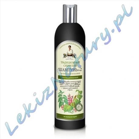Agafii Szampon 600ml na Brzozowym Propolisie 100% Naturalny