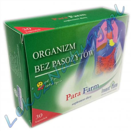 Une paire contre les parasites Farm 30 capsules