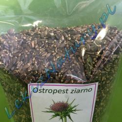 Молочный чертополох семян 900 г - натуральный силимарин