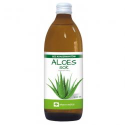 Aloe Vera Aloes - sok z liści aloesu 500ml - detox , oczyszczanie , wzmacnianie