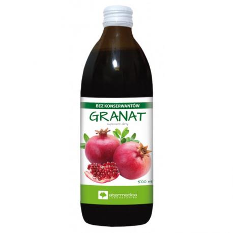 Granat - sok z owoców granatu 500ml