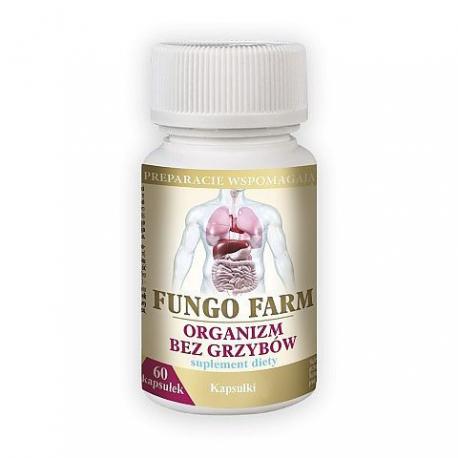 GRZYBICA - FUNGO FARM organizm bez grzybów 60 kapsułek