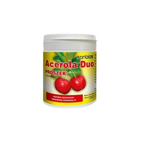 Acerola Witamina C 100 tabletek Sanbios