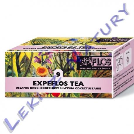 Expeflos Tea (9) - Zioła Przeciwastmatyczne - 2,5 g. x 20 sasz. - Herba Flos