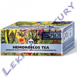 Hemoroflos Tea (11) - Zioła Przeciw Hemoroidom - 2,5 g. x 20 sasz. - Herba Flos