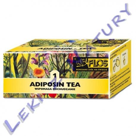 Herba Flos - Adiposin Tea (1) - Zioła Stosowane w Otyłości - 2,5 g. x 20 sasz