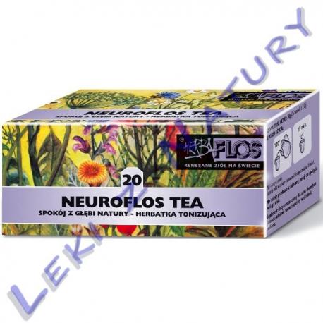 Herba Flos - Neuroflos Tea (20) - Zioła Przeciw Nerwicy - 2,5 g. x 20 sasz
