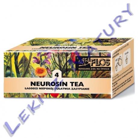 Herba Flos - Neurosin Tea (4) - Zioła Uspokajające i Nasenne - 2,5 g. x 20 sasz